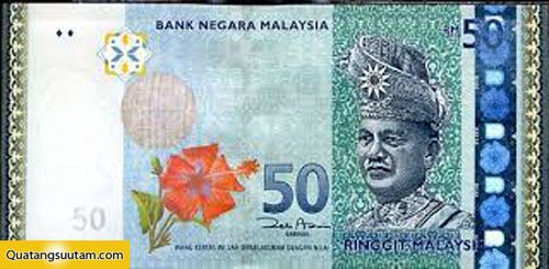 tien cac nuoc chau a 50 ringgit malaysia