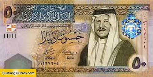 Dinar Jordan currency