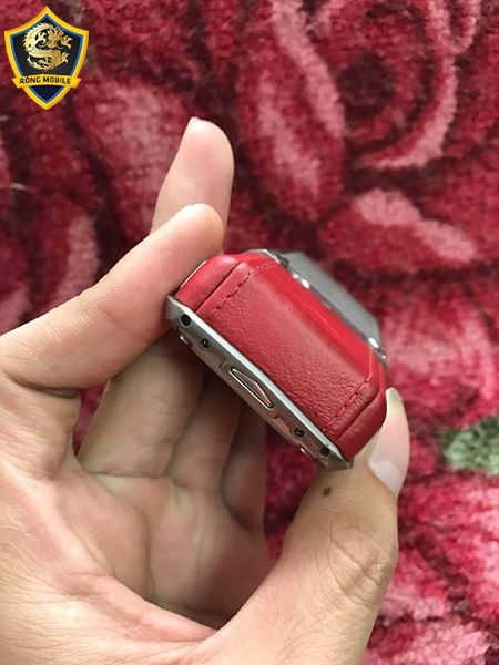 Vertu Ascent X titanium Red Leather