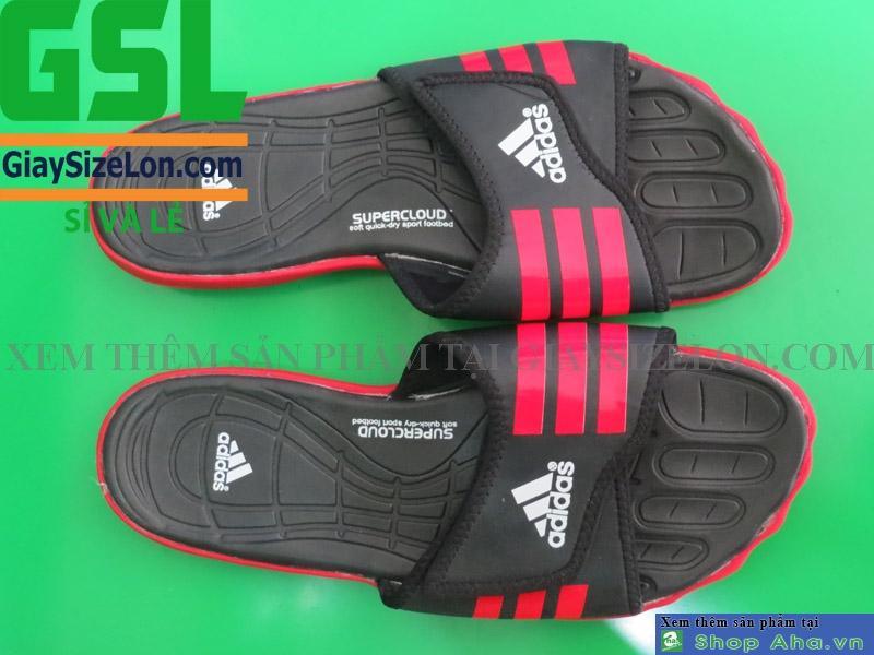 dép adidas màu đỏ