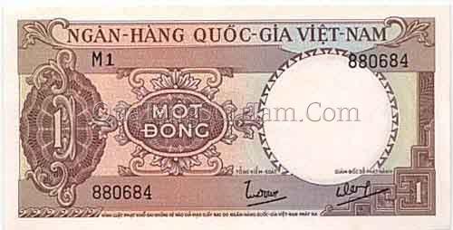 1 đồng (năm 1964)
