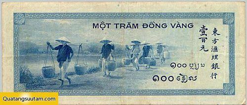 100 đồng vàng (năm 1945)