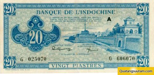 20 đồng vàng (năm 1942 - 1945)