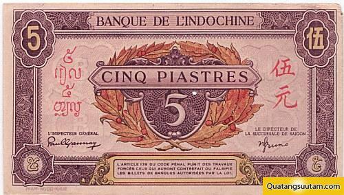 5 đồng vàng (năm 1942 - 1945)