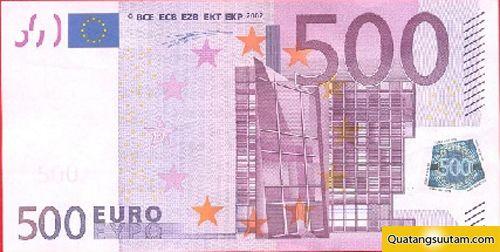 500 euro - tien cac nuoc chau au