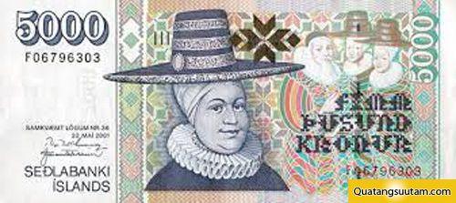 5000 Króna Iceland