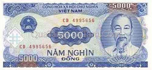 5000 đồng giấy (năm 1991)