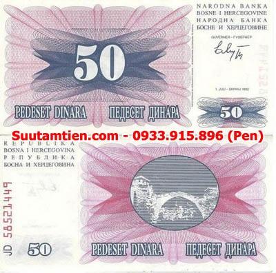 Bosnia 50 Dinara 1992