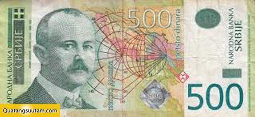 500 Dinar Serbia