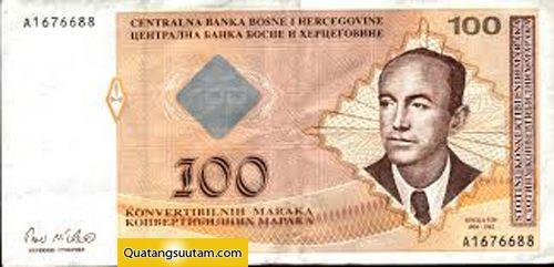 100 Mark Bosnia