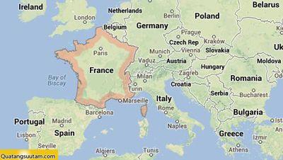 bản đồ tiền các nước châu âu