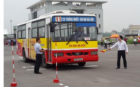 Quảng cáo trên xe bus tuyến 11 CV Thống Nhất - ĐH Nông Nghiệp I