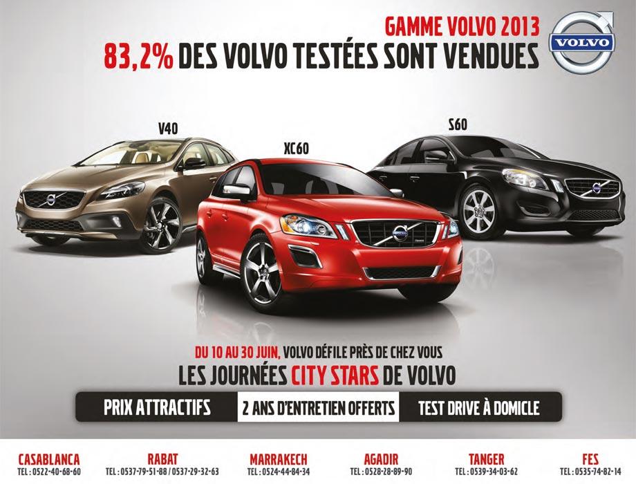 Volvo biết sử dụng hình ảnh thương hiệu để PR quảng cáo cho sản phẩm của công ty