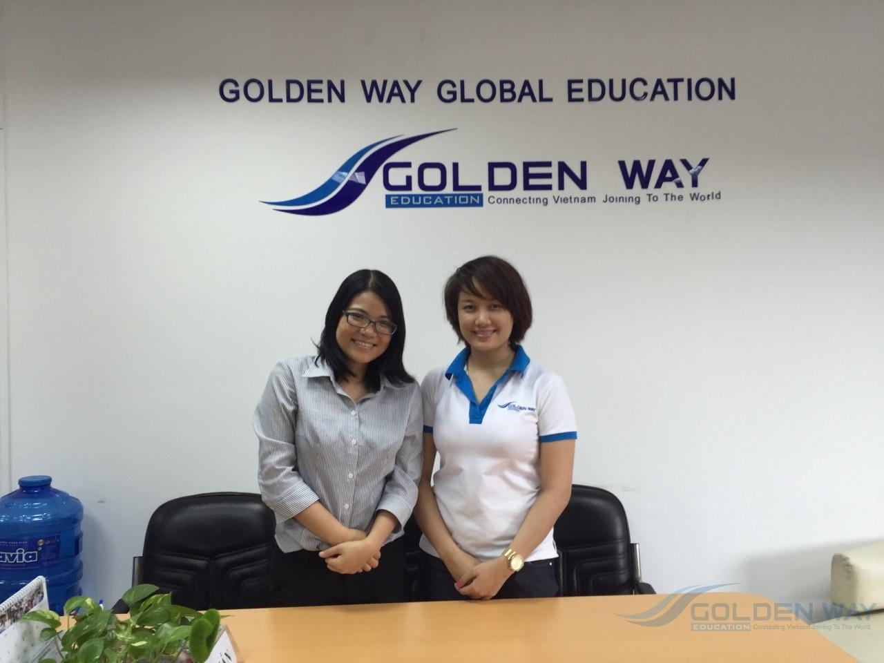 Đại diện trường ipu thăm goldenway