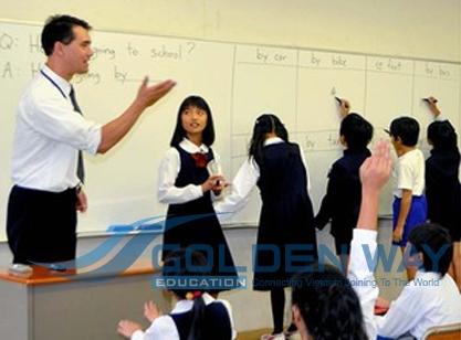 Giáo viên tiếng Anh tại nhật