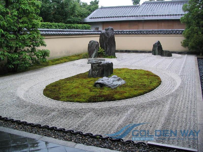 Du học Nhật bản - Tham quan vườn Zen