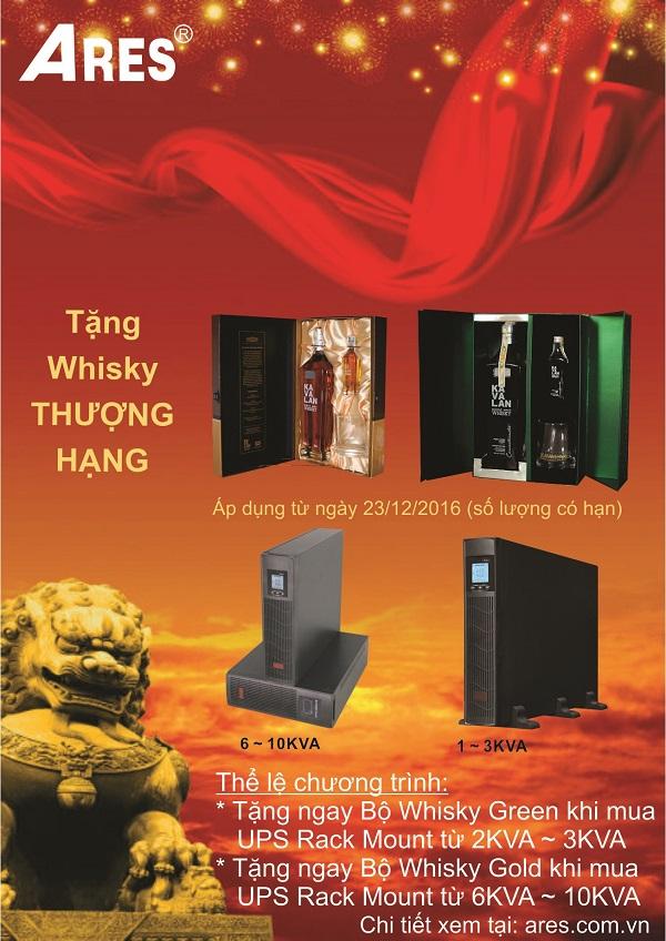 tang whisky thuong hang khi mua bo luu dien ups ares